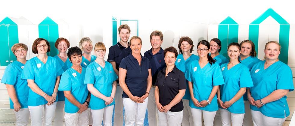 Das Team von Dr Wehr